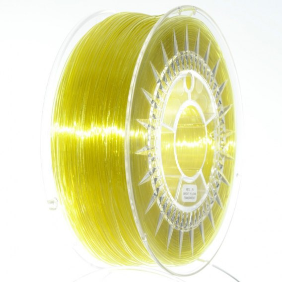 Filament Devil Design 1,75 mm PETG Jasnożółty transparentny