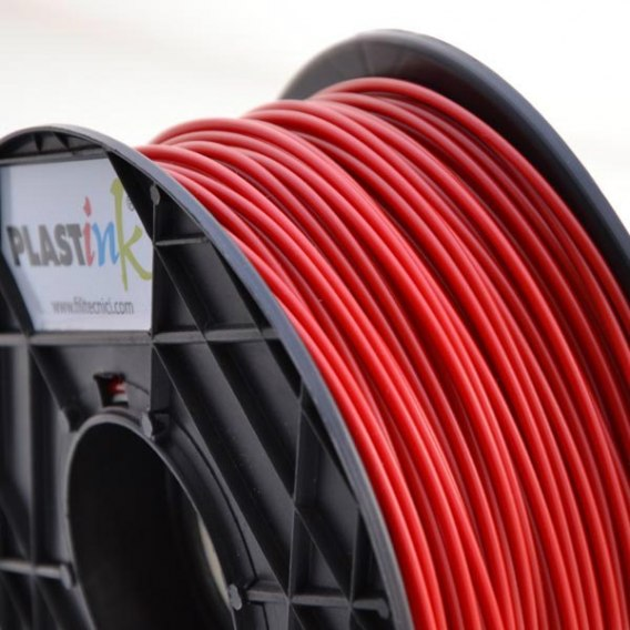 Filament Plastink ABS Red 3,00 mm 1 kg