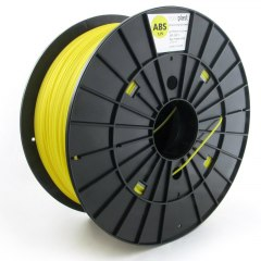 Filament Plasty Mladec ABS Yellow 1,75 mm