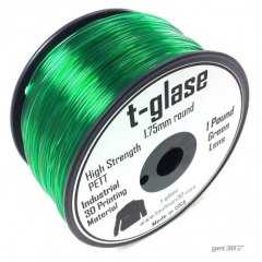 Filament Taulman 3D t-glase Green Lens 1,75 mm