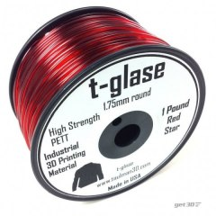 Filament Taulman 3D t-glase Red Star 1,75 mm