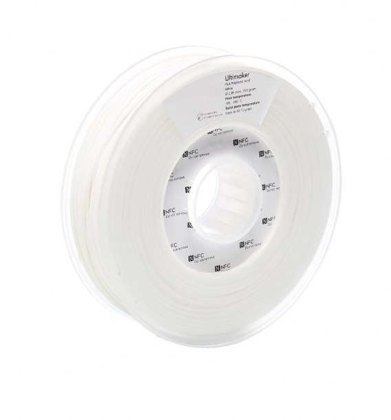 Filament Ultimaker 2,85 PLA White NFC