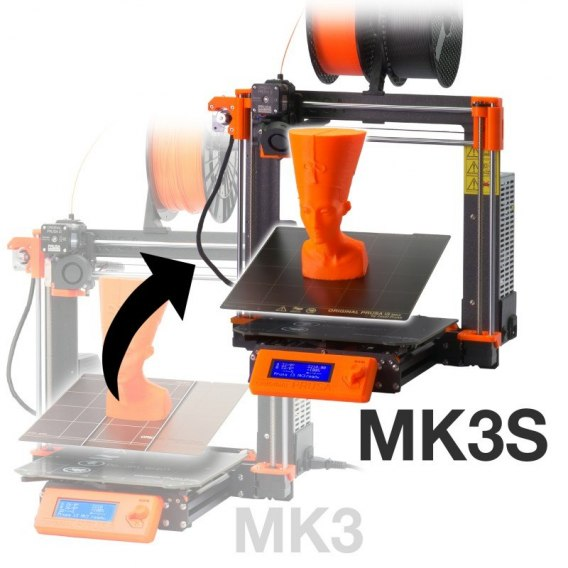 Upgrade z Prusa MK3 Do Mk3S