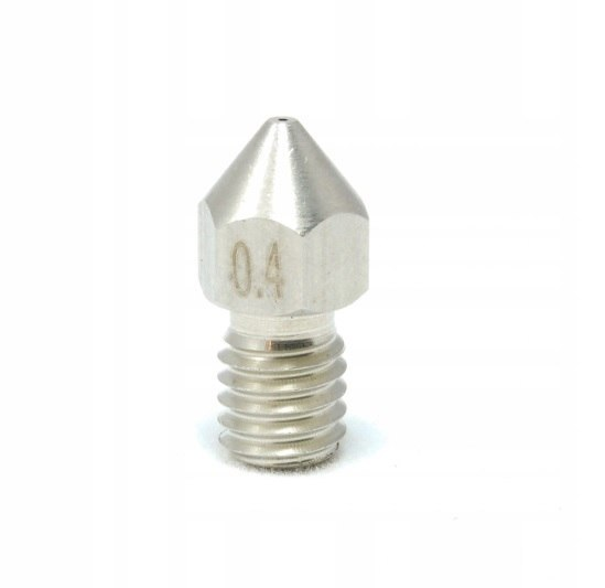 Steel conical nozzle M6 0.4 mm