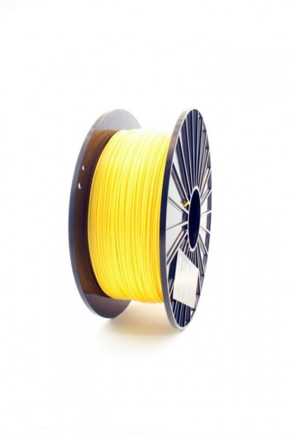 F3D Filament PLA yellow green 1kg 1.75mm
