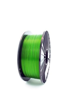 F3D Filament TPU green transparent 0.2 kg 1.75 mm