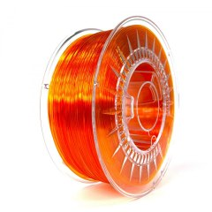 Filament Devil Design 1.75 mm PETG Light orange transparent