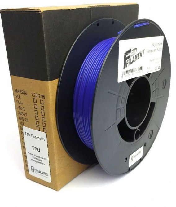 F3D Filament TPU orange 0.2 kg 1.75 mm