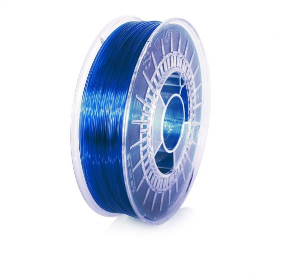 ROSA3D Filaments PET-G 1,75mm 800g Sky Blue Transparent