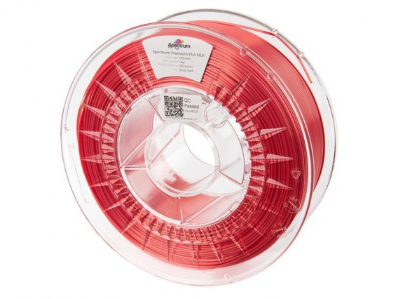 Spectrum Filaments SILK PLA Ruby Red 1kg 1,75 mm