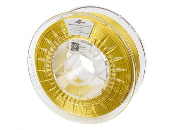 Spectrum Filaments SILK PLA Żółty Unmellow Yellow 1kg 1,75 mm